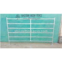 Heavy Duty Oval Pipe 6 Rails Temporary Cheap Cattle Panel Fence for Sale