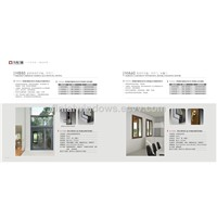 European standard HB80 Series thermal break aluminum windows