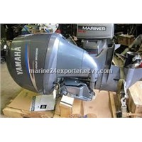 Free Shipping For Used Yamaha 90 HP 4-Stroke Outboard Motor