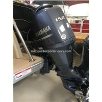 Free Shipping For Used Yamaha 150 HP 4-Stroke Outboard Motor