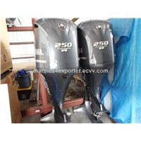 Free Shipping For Used Yamaha 250 HP 4-Stroke Outboard Motor