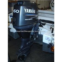 Free Shipping For Used Yamaha 60 HP 4-Stroke Outboard Motor