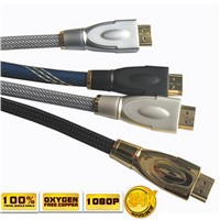 High quality 2m best buy black HDMI Cable 24k golden plated 1.4
