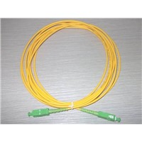 Fiber optic patch cord SC/SC-APC SM SX 1m