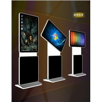42 Inch Stand Alone Rotating LCD Advertising Monitor with PC