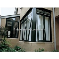 Aluminum double glazed awning windows made in China