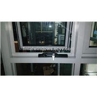 Australian style winder chain awning windows