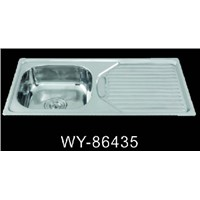 China Factory Suppy Stainless Steel Kitchen Sink WY-86435