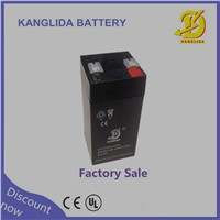 Electronic  balance player  sealed lead acid 4v4.5ahbattery