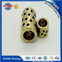 Self-lubricating Oil Groove Sliding Brass Bearing