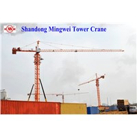Qtz100 (TC6010) -Max. Load 8t Construction Self-Erecting Tower Crane