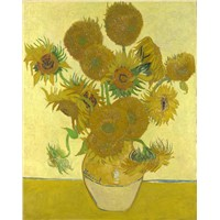 Sunflowers by Vincent Van Gogh customized oil paintings reproduction oil on canvas museum quality