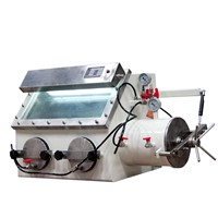 Laboratory stainless steel vacuum function inert gas sealed operation glove box