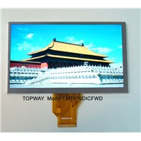 "800X480 7"" TFT LCD Module WVGA LCD Display (LMT070DICFWD) with Touch Panel"