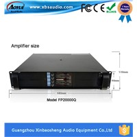 Lab Gruppen Fp20000q 2200w*4channels Power Amplifier with Glass LED Panel