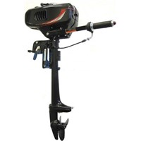 2 HP 2 Stroke Water-Cooled Outboard Motor with Propeller