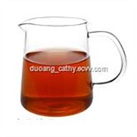 Glass Tea Serving Cup with Handle 300ml
