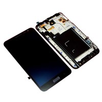 LCD Screen Touch Digitizer Frame Assembly For Samsung Galaxy Note 1 N7000 i9220