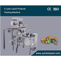 Pre-made Gusset Bag Preserves Sweetmeats Packing Machine