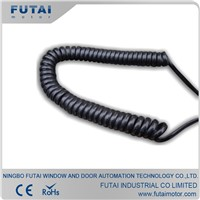 Helical Cable Spiral Cable for Industrial Door 4 Wires