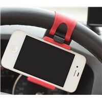Car Mount, Costech Steering Wheel Stand GPS Rubber Band Holder for Iphone 6,6s,6plus