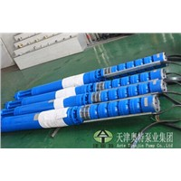 6'' stainless steel submersible pump for water