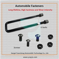 Different Types Heavy Truck U Bolts in Auto Parts, Automotive Screws Fasteners Manufacturer