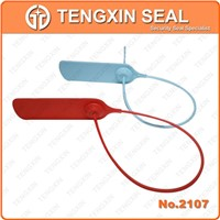 Tamper Evident Self Locking Security Plastic Seal Marker Tag