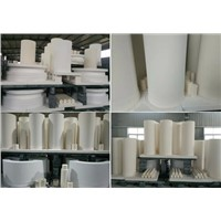 Alumina Ceramic Tube(Isostatic Processing)  works as lining in pipe
