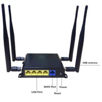 High quality wifi router with SIM slot support 3G 4G