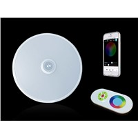RGBW 36W Smart LED Ceiling Light with Sound System