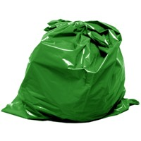 garbage plastic bag on roll