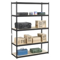 multi-level metal stacking racks and shelves