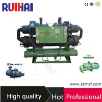 Double Compressor Water Cooled Screw Water Chiller