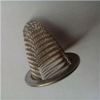 304 wire mesh stainless steel conical strainer