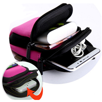 Colorful Running Hiking Wrist Pouch Phone Key Card Arm Bag Holder Package