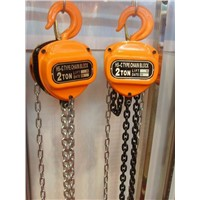 HSC types of chain block portable chain lifting pull lift chain block