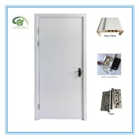 High quality nice design wood plastic composite wpc doors