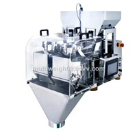 Stainless Steel  2 head Linear Weigher packing machine,packaging machine