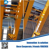 25/10ton Europe style double girder electric overhead traveling crane