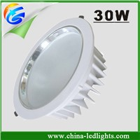 30w led downlight led cabinet light indoor recessed led down lamps