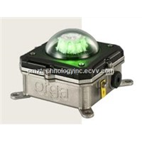 ORGA Explosion proof green LED helideck perimeter light L85EX-G-DC