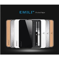 China ecig manufacturer Smiss technology best seller Emili Power bank case e cigarette ecigare 2in1