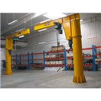 Factory Electric Wire Rope Hoist Manufacturer Rotating Cantilever Jib Crane 5Ton