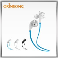 Hot Sale Wireless Sport Bluetooth Earphone with Flat Cable