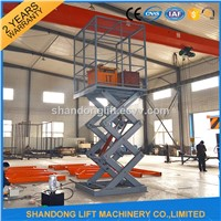 ISO Certificated Scissor Lifting Equipment Home Hydraulic Lifting Equipment