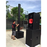 Line Array Column Speaker 10*5'' Column System