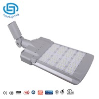 135W Bridgelux LED Street Light With Mean Well Driver IP66 Aluminium 120lm/w