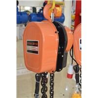 DHS electric chain hoist block can use trolley