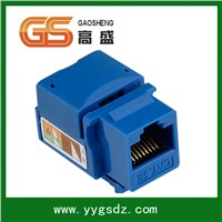 Cat5e Keystone Jack RJ45 Female Connector